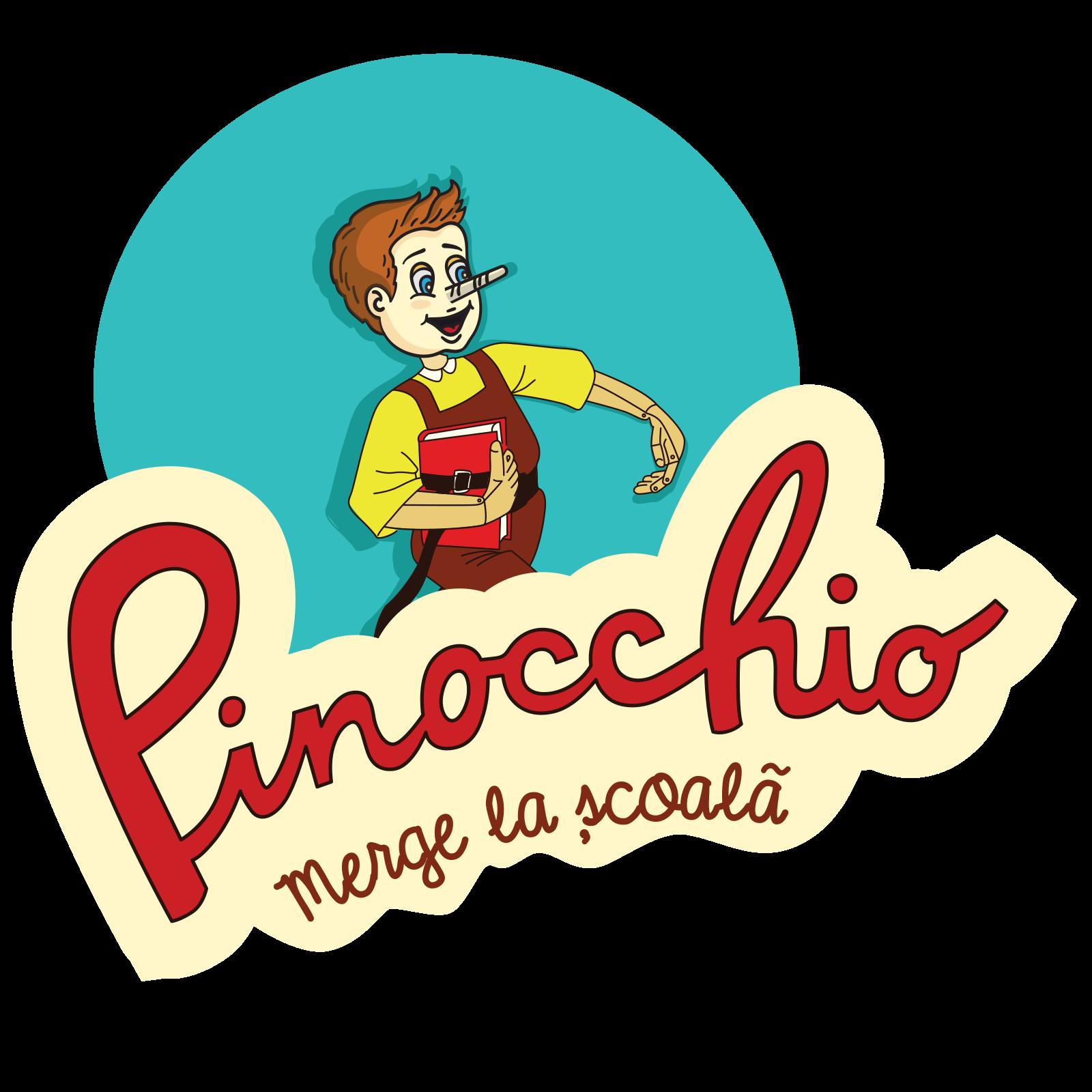 Pinocchio merge la scoala
